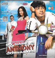 My NOM EST ANTHONY gonsalves - Neuf BOLLYWOOD BANDE SONORE CD