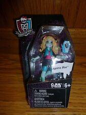 "Monster High Mega Bloks Series 1 LAGOONA BLUE 3"" Mini Doll Construx Laguna"