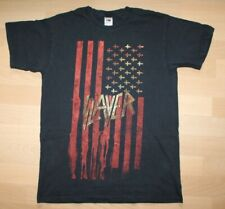 Slayer , American Flag Shirt , 2007 , Size M , rar, rare