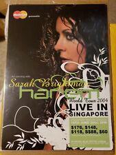 Sarah Brightman Live In Singapore Harem World Tour 2004 Original 3 Promos