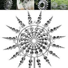 35cm Einzigartige magische Metall Windmühlen Spinner Windfänger Garten Dekor C5
