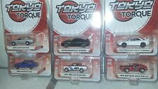 GREENLIGHT TOKYO TORQUE SERIES 2, 1X FULL SET OF 6 (ON SALE) SAVE $$$$$$$$$$$$$$