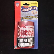 Tampa Bay Buccaneers NFL Tailgating Tape 50 Ft Roll Non Adhesive Plastic Tape