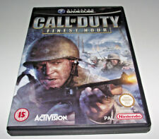 Call of Duty Finest Hour Nintendo Gamecube PAL *Complete*