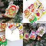 10Pcs Selling Xmas Festival Christmas Tree Decoration Ornaments Wish Cards AU
