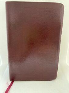 Vintage Bonded Leather Bound HOLY BIBLE KJV Riverside 87RLR