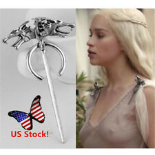 USA 2019 Game of Thrones Daenerys' Dragon Brooch Pin Movie Cosplay Jewelry Prop