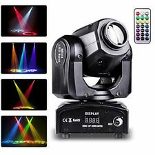 Moving Head Stage Lights, 40W LED DJ Light with Remote Controller DMX512