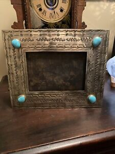 J ALEXANDER Rustic Mexico Silver Frame  Stamped