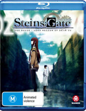 STEINS ; GATE THE MOVIE LOAD REGION OF DEJA VU -  Blu Ray - Sealed Region B