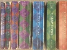 Harry Potter Complete Series 1-7 set Rowling paperback 2 3 4 5 6 lot acceptable