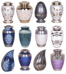 Cremation Urns Adult Large Memorial Urn For Ashes Human Pet FREE VELVET BAG