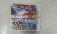 Combo Pack Madagascar 3 and The Crocks 3ds Brand New PAL Version