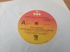 YOU'VE REALLY GOT A HOLD ON ME // EDDIE MONEY US ROCK OZ PRESS CBS 1978 PROMO