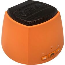 Spy THE SIREN Bluetooth Speaker w/ Mic & Controls for Hands-Free Talking Orange