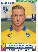 186 leonardo Blanchard italia Frosinone calcio sticker calciatori 2016 panini