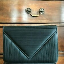 Jim Thompson Silk Envelope Clutch Bag - Black