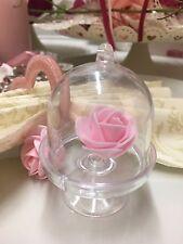 30 süße Glocken zum Befüllen als Gastgeschenk, Giveaway/Hochzeit/Vintage klar
