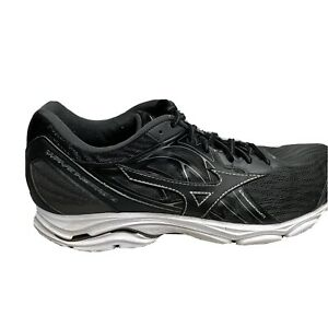 Mizuno Wave Inspire 14 Running Shoes Mens Size 11 Black Sneakers Workout