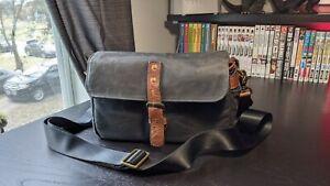 ONA The Bowery Camera Bag-Black Waxed Canvas USED