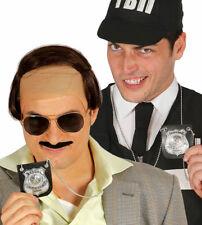 Fancy Dress Police PENDANT NECKLACE Badge Cop Warrant Card Detective ID Cop