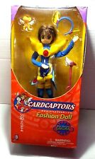Trendmasters Card Captors Blue Warrior Sakura Kinomoto Fashion Doll Clamp Anime