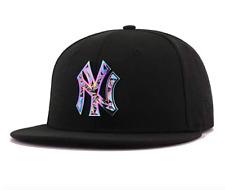 New York Yankees New Era COLOR SHIFT 9Fifty Snapback Hat -Black/Iridescent