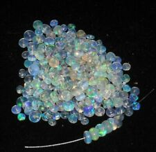 100Pcs 3-5MM Natural Ethiopian Opal Beads Fire Opal Drilled Loose Gemstone DH61