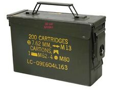 Surplus Military Ammo Cans - 30 Cal