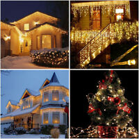3 5M Christmas Battery Mini LED Copper Wire String Lights Party Home Xmas Decor