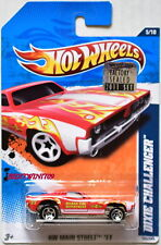 Hot Wheels 2011 Hw Main Street Dixie Challenger #5/10 Red Factory Sealed