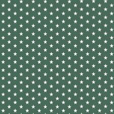 Stoff Meterware Sterne Weiß auf Türkis Baumwolle Kleidung  Bettwäsche Dekostoff