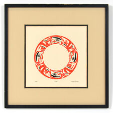 Robert Davidson 1979 Cycles Potlatch Print Haida Native Art