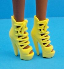 2016 Barbie Shoes Fashionistas & Model Muse Yellow Platform Gladiator Sandals