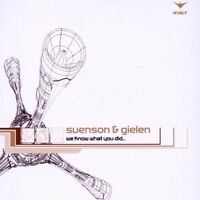 Svenson + Gielen We know what you did (2002) [Maxi-CD]