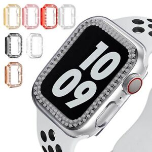 For Apple Watch Series SE 6/5/4/3/2/1 Crystal Protective Bumper Cover Case
