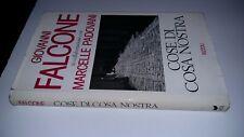 GIOVANNI FALCONE-MARCELLE PADOVANI-COSE DI CASA NOSTRA-RIZZOLI-1992-SZ23