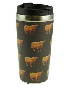 Glen Appin Of Scotland Scottish Highland Cow Coo Eco Coffee Cup Mug