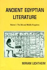 Ancient Egyptian Literature Old + Middle Kingdom Coffin Texts Letters Hymns Song