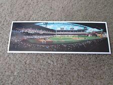 """1991 Bill Goff Inc. """"Ebbets Field Classic"""" 9x3 Print  Game 4 1955 World Series"""