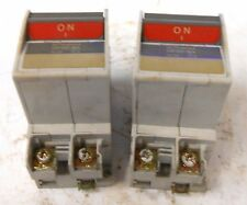 Mitsubishi Circuit Proctector Cp30-Ba, 2 Pole, 2 Amp, 220 Vac, Lot Of 2