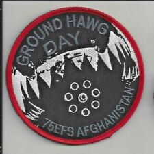 Patch Usaf 75th Expeditionary Fighter Sq Efs Operation Freedom'S Sentinal J