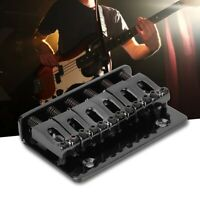 Electric Guitar 65mm Black Tremolo Bridge Set with Wrench and Screw