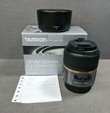 Tamron SP G005 60mm f/2 Di-II LD AF IF Macro Lens Minolta Sony Alpha A-mount