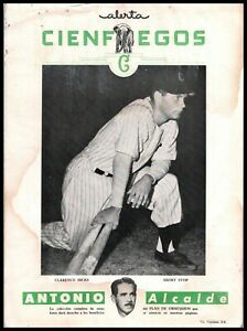 CLARO DUANY 1949 1950 Alerta Cuban PHOTO Baseball Premium CIENFUEGOS 543