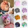 Kids Baby Hat Indian Turban Beanies Floral Caps Toddler Cotton Bowknot Head Wrap