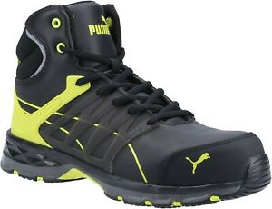 Puma Safety Mens Velocity 2.0 MID S3 safety Boot Yellow