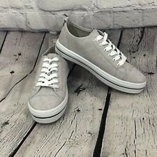 Soul Mates Gray Canvas Sneakers Size 9-10