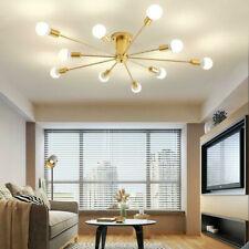 Modern 6/10 Lighting Sputnik Chandelier Mid Century Pendant Ceiling Lamp Fixture