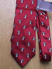 John Ashford (57 in.-60 in.), Skinny (< 3.5 in.), Polyester, Red Tie